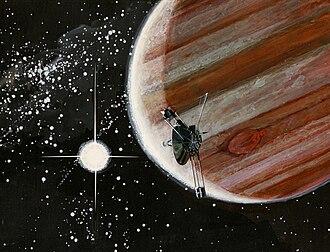 Pioneer 10 - Image: Pioneer 10 at Jupiter