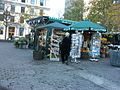 Place d'Armes, small market, Montreal 2005-10-21.JPG