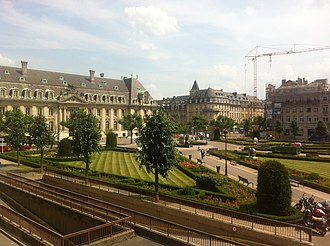 Place des Martyrs, Luxembourg - Place des Martyrs, Luxembourg