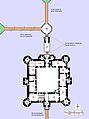 Planimetria del castello di Bodiam.jpg