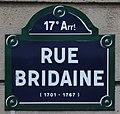 Plaque Rue Bridaine Paris 1.jpg