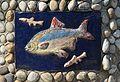 """Plastik """"Fische in der Liesing"""" 08 by Kollegium Kalksburg.jpg"""