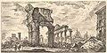 Plate 7- Temple of Jupiter Tonans (Jupiter the Thunderer). 1. Temple of Concord. (Tempio di Giove Tonans. 1. Tempio della Concordia.) MET DP827917.jpg