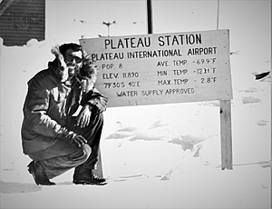"Plateau Station -  ""Plateau Station International Airport"" in 1968"