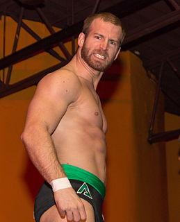 Stupefied Canadian professional wrestler