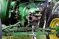 Plougoulm - Gouel an Eost 2011 - Préchauffage au chalumeau d'un tracteur Vierzon - 002.jpg