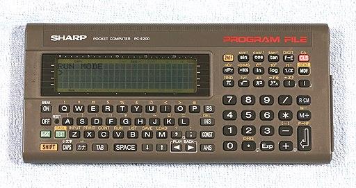 Pocket Computer SHARP PC-E200