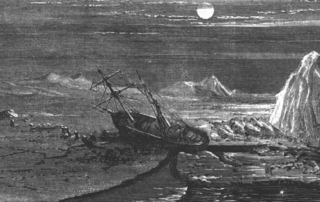 Failed 19th-century American North Polar expedition