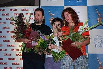 Janusz A. Zajdel Award - 2012 winners: Jakub Ćwiek and Maja Lidia Kossakowska