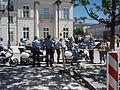Police bikes in Warsaw.jpg