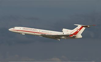 2010 Polish Air Force Tu-154 crash - PLF 101, the aircraft involved the accident photographed in 2008