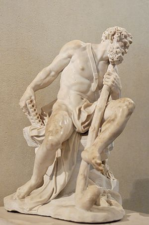 Acis and Galatea (Handel) - Polyphemus, by Van Cleve, Louvre