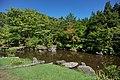 Pond and garden in the Seitaikei Park 20200906a.jpg