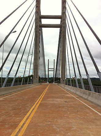 Oyapock River Bridge - Image: Pont SGO