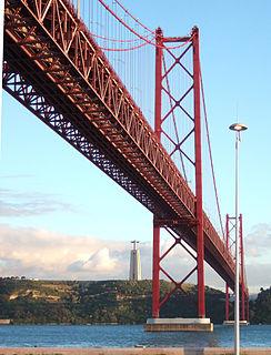 25 de Abril Bridge Suspension bridge in Portugal