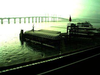 Taipa - Ponte de Amizade and the HK-Macau Ferry Terminal