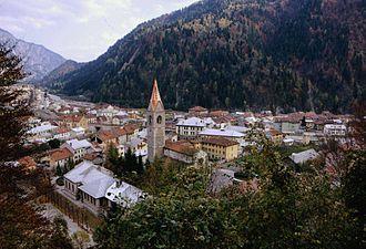 Pontebba - Image: Pontebba panorama