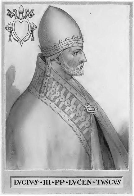Pope Lucius III Illustration