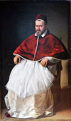 Pope Paul V - Pope Paul V by Caravaggio.