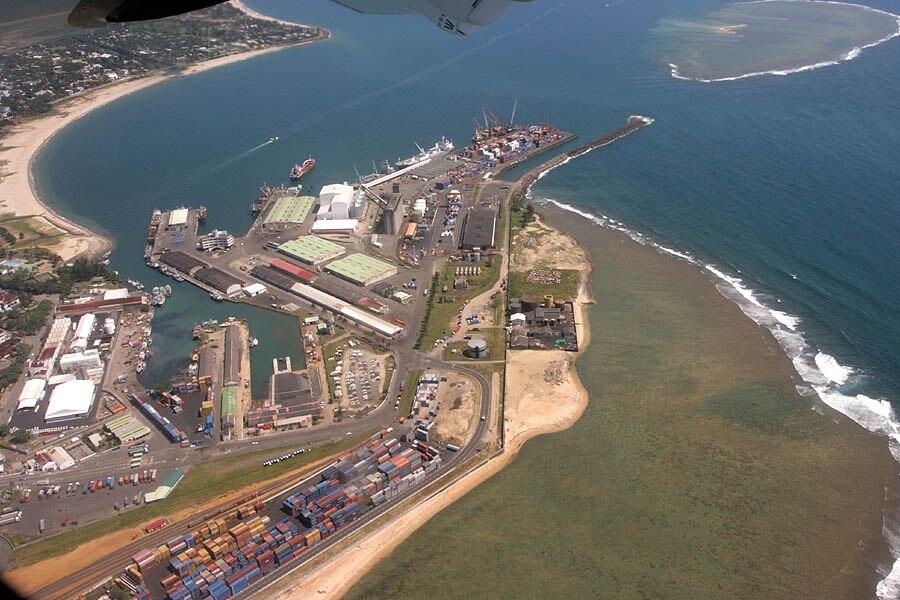 Port Toamasina Madagascar