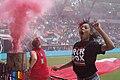 Portland Thorns supporter (14431185154).jpg
