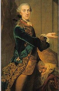 Landgrave of Hesse-Kassel 1785 – 1821