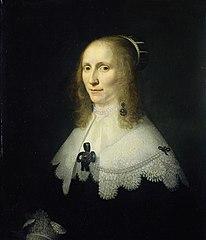 Portrait of Cornelia Tedingh van Berckhout (1614-80)