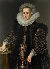 Portrait of a woman, probably Maria Schuurman (1575-1621)