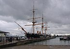 Portsmouth MMB 45 Royal Naval Dockyard - HMS Warrior.jpg