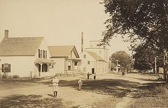 Readfield, Maine - Readfield Depot c. 1909