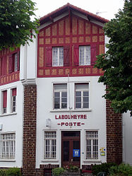 The post office in Labouheyre