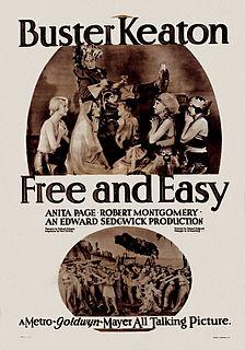<i>Free and Easy</i> (1930 film) 1930 film