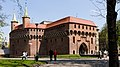Pozostałości murów obronnych Krakowa- Barbakan; A-8; PL-MA, Kraków, Planty; 02.jpg