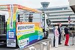 Präsentation Paradetruck Jugend gegen AIDS zur ColognePride 2018 am Köln Bonn Airport-7226.jpg