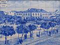 Praça Almada 1900 Jardim grades Povoa Varzim.JPG