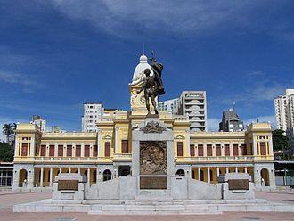 Southeast Region, Brazil - Station Square in Belo Horizonte.