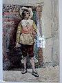 Pradilla, Francisco - Mosquetero -1879 acuarela sobre papel MMBAV fRF01.jpg