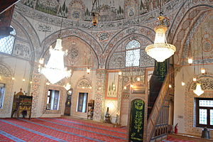 Hadum Mosque - Prayer Hall in Hadum Mosque