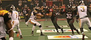 Los Angeles Kiss - The Kiss playing the Orlando Predators in 2015