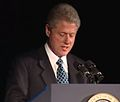 President Clinton at a Dinner Honoring Rep. John Lewis (2000) 12.jpg