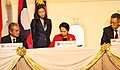 President Gloria Macapagal-Arroyo sign the Declaration of the Road Map for an ASEAN Community 2009-2015.jpg