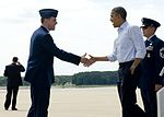 President Obama lands at Langley 120713-F-CJ792-008.jpg