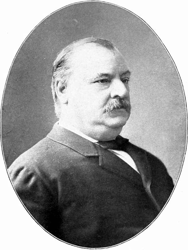 grover cleveland presidential terms march 4, 1885 ? march 4, 1889