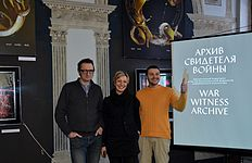 Press conference about 56 Venice Biennale in Contemporary Art Center, Minsk 21.01.2015 01.JPG