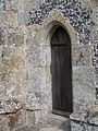 Priest's door at St Mary and St Lawrence Church - geograph.org.uk - 539126.jpg