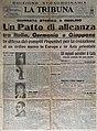 Prima pagina La Tribuna 28-09-1940.jpg