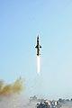 Prithvi-II missile launch on 26 September 2011.jpg