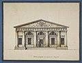 Project for the Riding-School of the Horse Guards in Saint Petersburg - Elevation of the Side Entrance MET DP811331.jpg