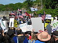 Protesters and counter-protesters 2, May 23, 2007.jpg