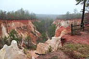 Providence Canyon Overlook